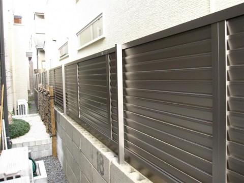 京都O邸 Pフェンス