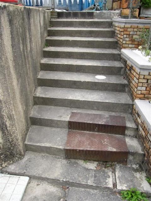 国分N邸 階段-施工前